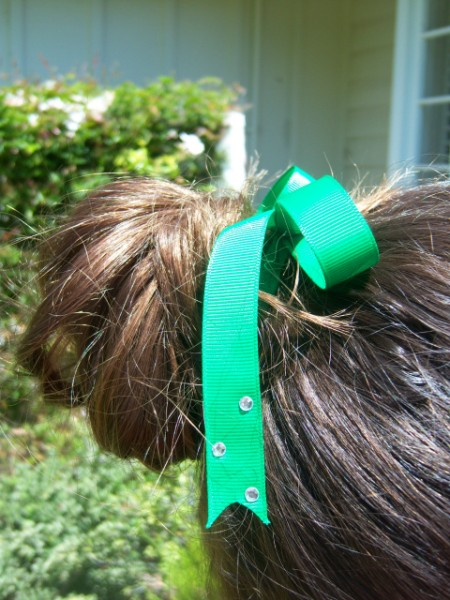 Kelly Green Ribbon