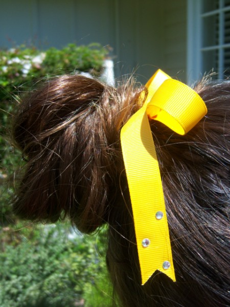 Yellow Gold Ribbon