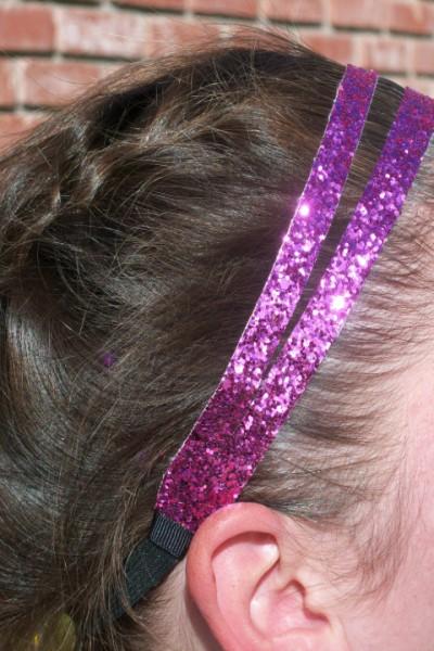 Candy Pink Glitter Splitz