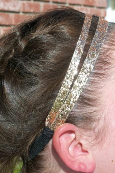 Gold Glitter Splitz