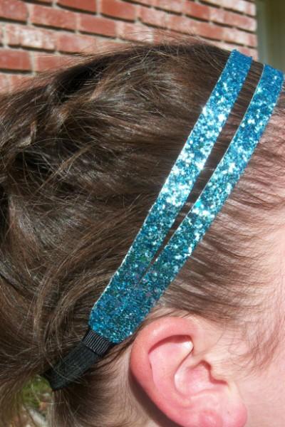 Light Blue Glitter Splitz