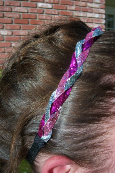 Hot Pink- Light Pink-Silver Braidz