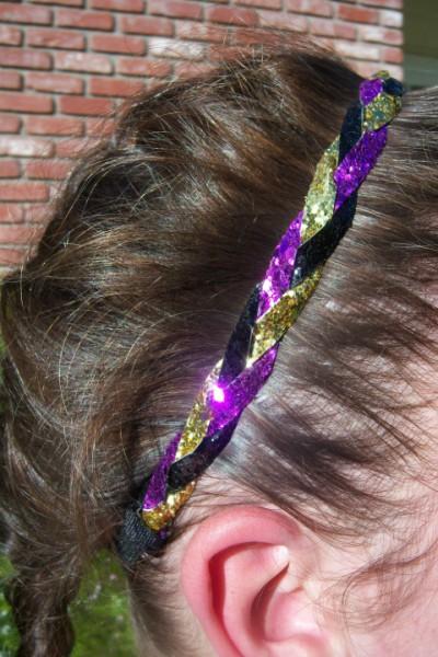 Purple, Yellow & Black Braidz