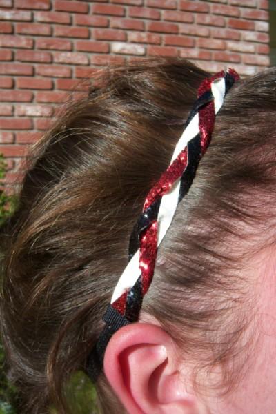 Red, White & Black Braidz