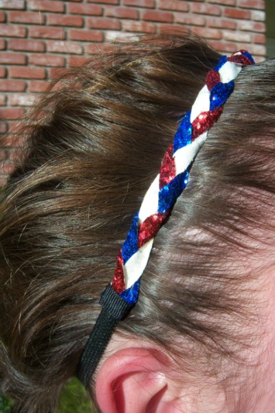 Red, White & Royal Blue Braidz