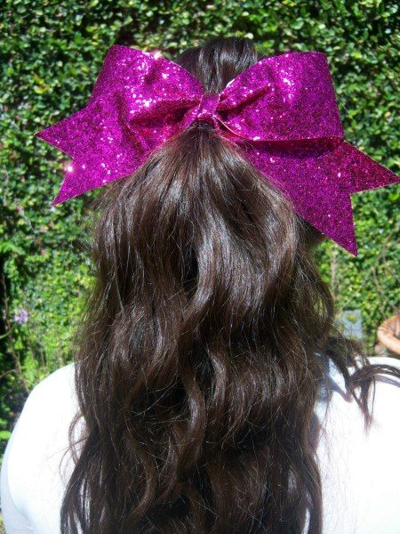 Hot Pink Bling Bow