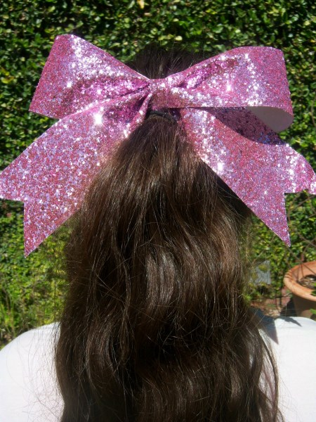 Light Pink Bling Bow