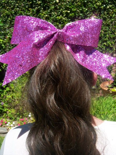 Candy Pink Bling Bow