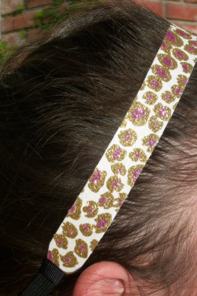 Cheetah Couture Headband