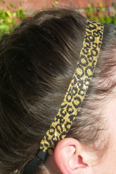 24-Karat Cheetah Headband