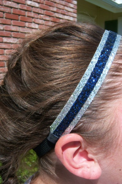 Silver/ Navy Double