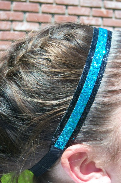 Black/ Teal Double