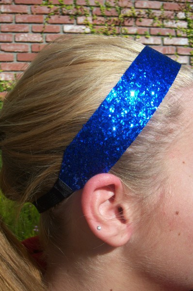 Custom Royal Blue Glitter Fattie
