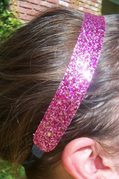 Fabulous Multi Pink Glitter Headband