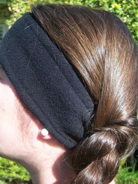 Black Fleece Headwrap