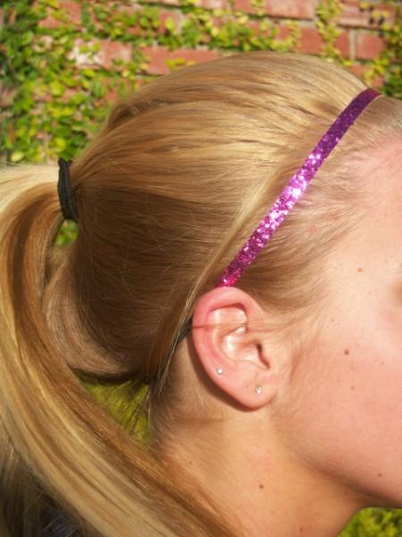 Candy Pink Glitter Skinny