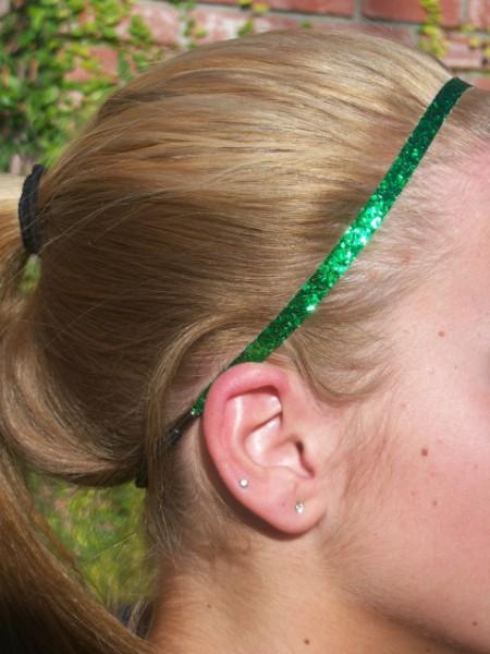 Green Glitter Skinny