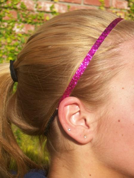 Hot Pink Glitter Skinny