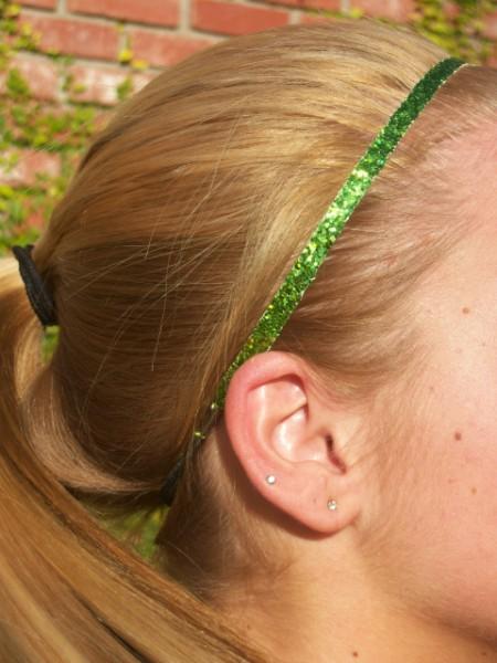 Lime Glitter Skinny