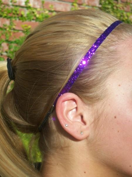 Dark Purple Glitter Skinny