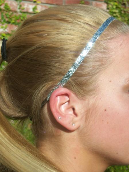 Silver Glitter Skinny